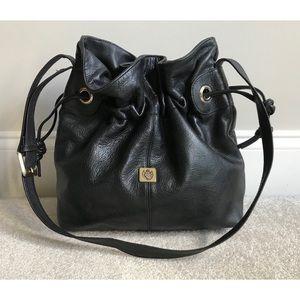 Liz Claiborne Genuine Leather Bucket Bag